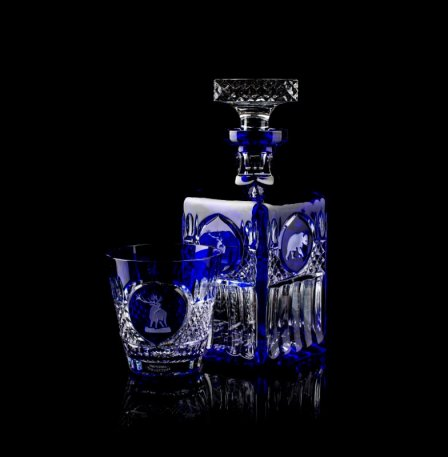 Tsar Hunt Whiskey Decanter Set