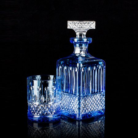Tsar Whiskey Decanter Set