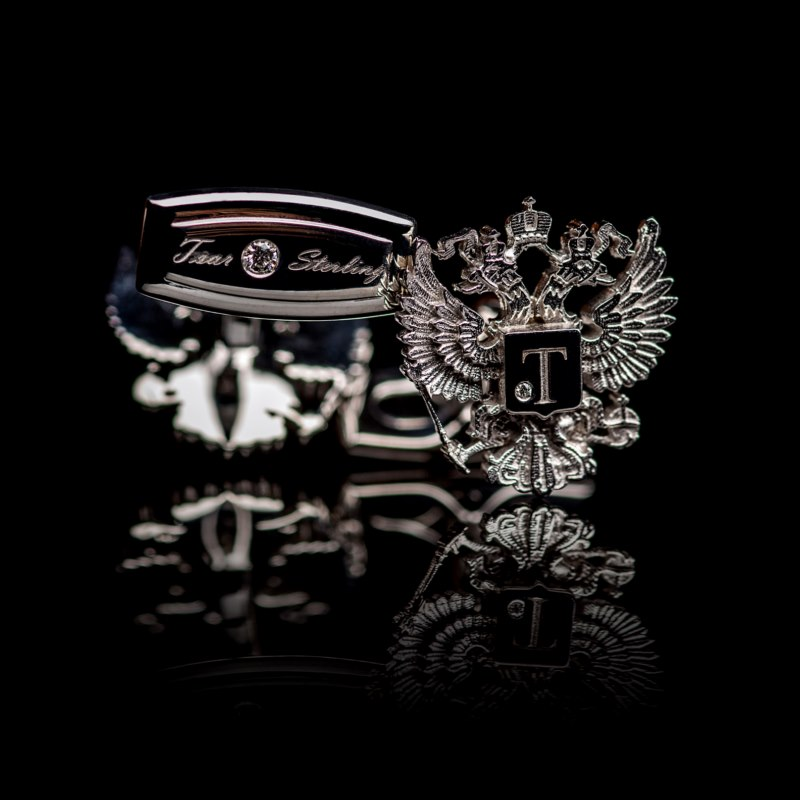 Romanov Eagle Cufflinks